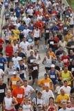 miasto 2007 Malaga biegowi biegacze miejskich Fotografia Stock