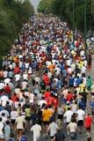 miasto 2007 Malaga biegowi biegacze miejskich Fotografia Royalty Free