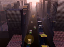 Miasto 21 ilustracja wektor
