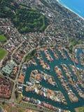 miasto 4 przybrzeżne Fotografia Stock