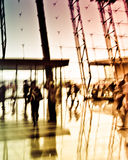 Miasto abstraktów ludzie biznesu Zdjęcie Stock