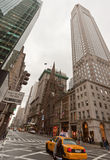 miasto alei taksówki miasto nowy York Zdjęcia Stock