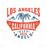 MIASTO aniołowie LOS ANGELES KALIFORNIA Obrazy Royalty Free