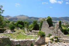 miasto antyczne prętowe ruiny Obraz Royalty Free