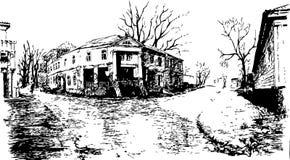 Miasto Arzamas royalty ilustracja