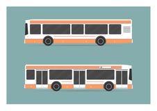 Miasto autobus royalty ilustracja