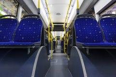 Miasto autobus inside obrazy royalty free