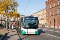Miasto autobus w StPetersburg Obrazy Stock