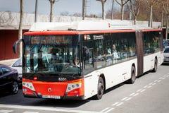 Miasto autobusowy jawny transport zdjęcie stock