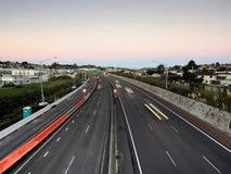 miasto autostrady ruchu drogowego ruchu plama Zdjęcie Royalty Free