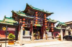 Miasto bóg głównej bramy antycznego miasta Świątynny budynek Zdjęcie Royalty Free