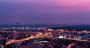 Miasto Bangkok metropolia obraz royalty free