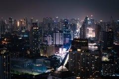 Miasto Bangkok metropolia fotografia stock