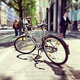 Miasto bicykl Zdjęcie Royalty Free