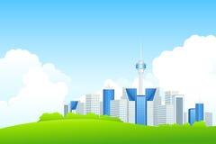 Miasto biznesowy Krajobraz Obrazy Stock