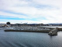 Miasto Bodo w Norwegia Obraz Stock