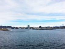Miasto Bodo w Norwegia Obrazy Stock