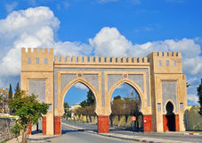 Miasto brama, Fes, Maroko Zdjęcie Stock