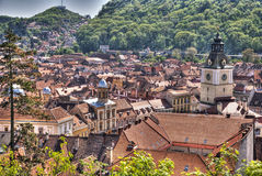 Miasto Brasov, Rumunia fotografia royalty free