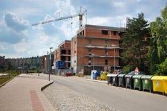 Miasto Brno i żuraw, republika czech, Europa obraz stock