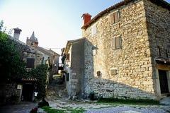Miasto brzęczenie w Chorwacja fotografia stock