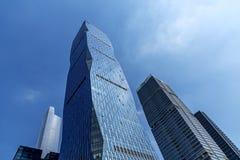 Miasto budowy w Guangzhou porcelanie Obraz Royalty Free