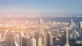 Miasto buduje Bangkok Tajlandia śródmieście Obrazy Stock