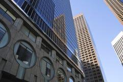 Miasto budynki Zdjęcia Royalty Free