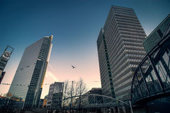 Miasto budynki Obrazy Stock