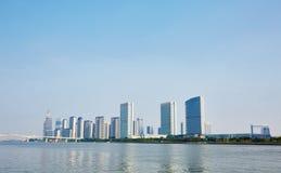 Miasto budynki i linia horyzontu Obrazy Royalty Free