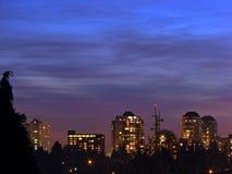 miasto budynku. Zdjęcie Royalty Free