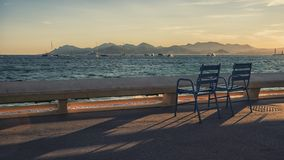 Miasto Cannes obrazy stock