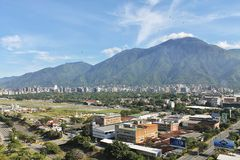 Miasto Caracas fotografia royalty free