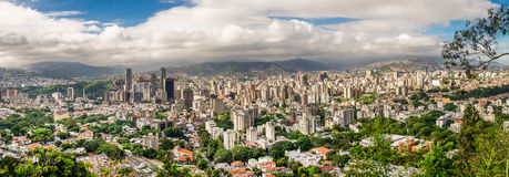 Miasto Caracas, Wenezuela Fotografia Royalty Free