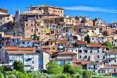 Miasto Chianciano Terme w Tuscany, Włochy zdjęcie royalty free