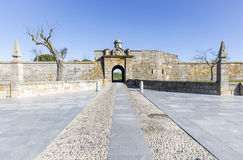 Miasto ściany kopii bramy w Almeida Obrazy Stock