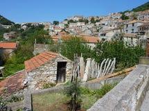 miasto Croatia historyczny Obrazy Royalty Free