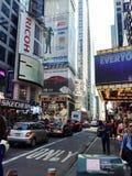 miasto czas nowi kwadratowi York Fotografia Stock