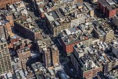 Miasto dachu wierzchołki Obraz Stock