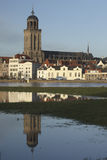 Miasto Deventer holandie Fotografia Royalty Free