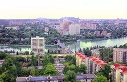 Miasto Donetsk, Ukraina zdjęcie stock