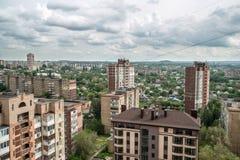 Miasto Donetsk, Ukraina obraz royalty free