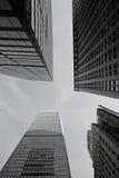 miasto drapacze chmur Zdjęcia Royalty Free