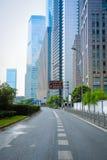Miasto droga w Shanghai Obraz Royalty Free