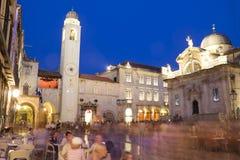miasto Dubrovnik Croatia stary Zdjęcia Stock