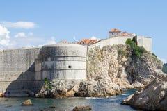 miasto Dubrovnik Croatia stary Zdjęcia Royalty Free