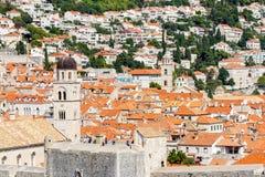 miasto Dubrovnik Croatia stary Obraz Royalty Free