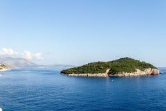 miasto Dubrovnik Croatia stary Obrazy Stock