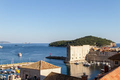 miasto Dubrovnik Croatia stary Obraz Stock