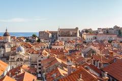 miasto Dubrovnik Croatia stary Obrazy Royalty Free